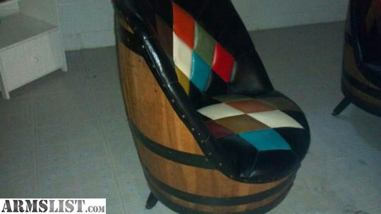 Man Cave Furniture For Sale : A table and four chairs made from whiskey barrels i would