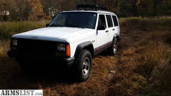armslist for sale 1995 jeep cherokee 4 0 liter ho 4x4 auto winter time. Black Bedroom Furniture Sets. Home Design Ideas