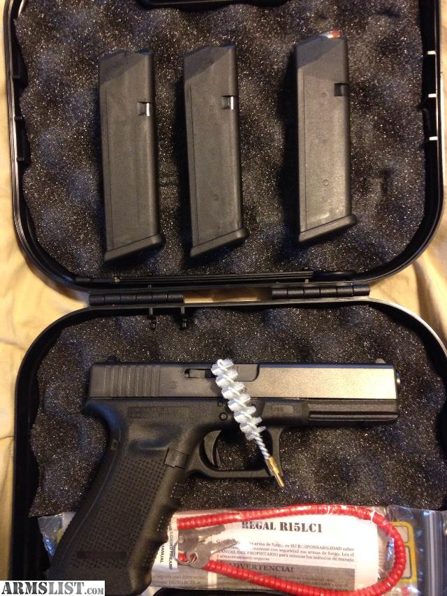This is a photo of Mesmerizing Glock 19 Gen 4 Blue Label Price